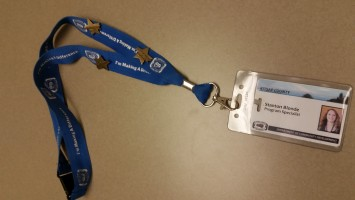 Make a difference lanyard with stars